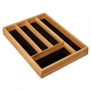 167748 Organizator tacamuri bambus 5 compartimente0