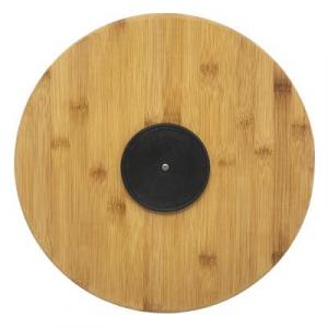 Tava rotunda din bambus, 4 compatrimente, D35.5 cm JJA 1542352