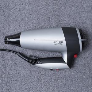 Uscator de par Adler AD 2239, 2000 W, Argintiu/Negru5