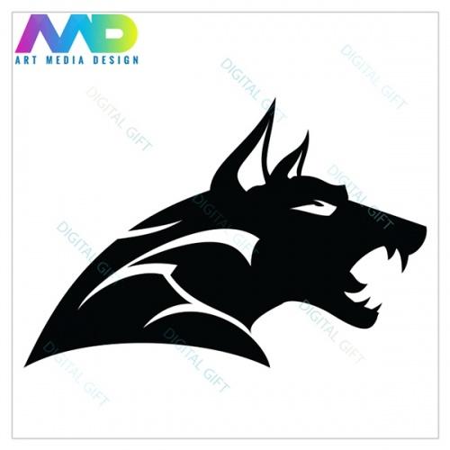 Șapcă unisex - Black wolf 1