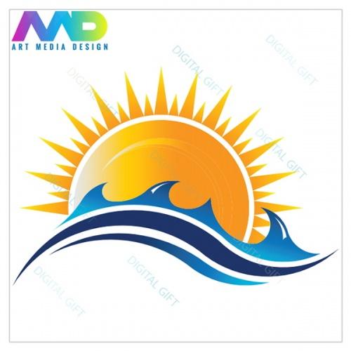 Șapcă unisex - Soare și valuri 1