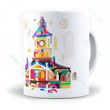 Cană ceramică - Casa Sfatului 0