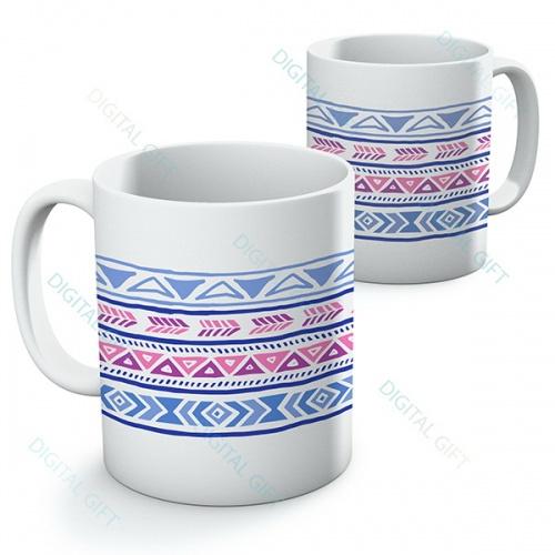 Cană ceramică - Motive etno 01 0