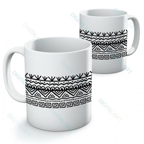 Cană ceramică - Motive etno 03 0