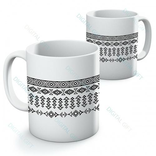 Cană ceramică - Motive etno 06 0
