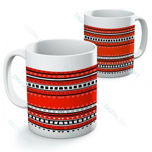 Cană ceramică - Motive etno 07 0