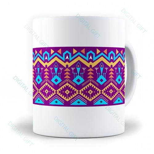 Cană ceramică - Motive etno 09 0