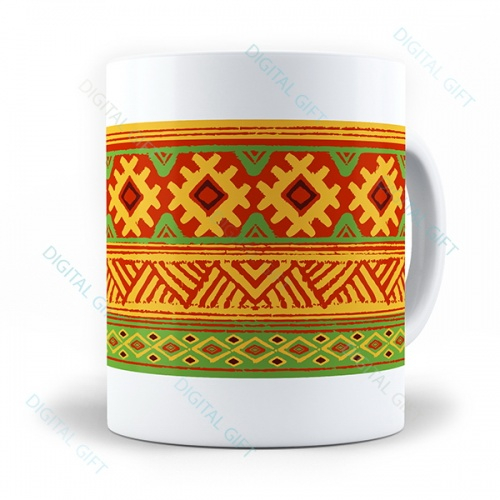 Cană ceramică - Motive etno 10 0