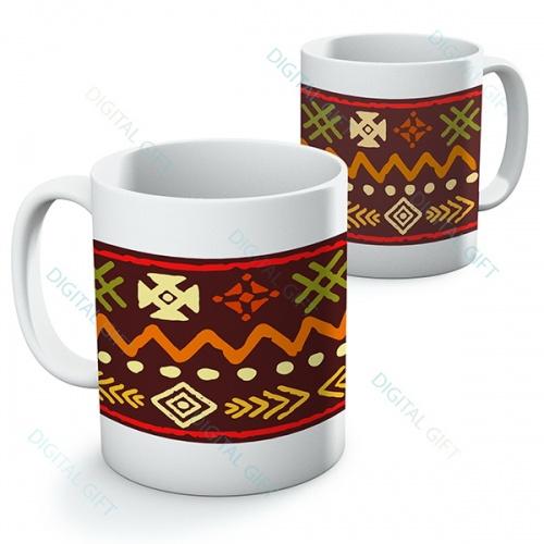 Cană ceramică - Motive etno 11 0