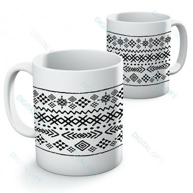 Cană ceramică - Motive etno 13 0