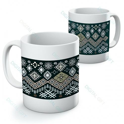 Cană ceramică - Motive etno 14 0