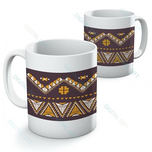 Cană ceramică - Motive etno 17 [0]
