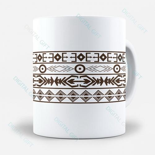 Cană ceramică - Motive tradiționale 07 0