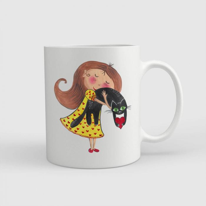 Cană ceramică - Dragoste eternă [0]