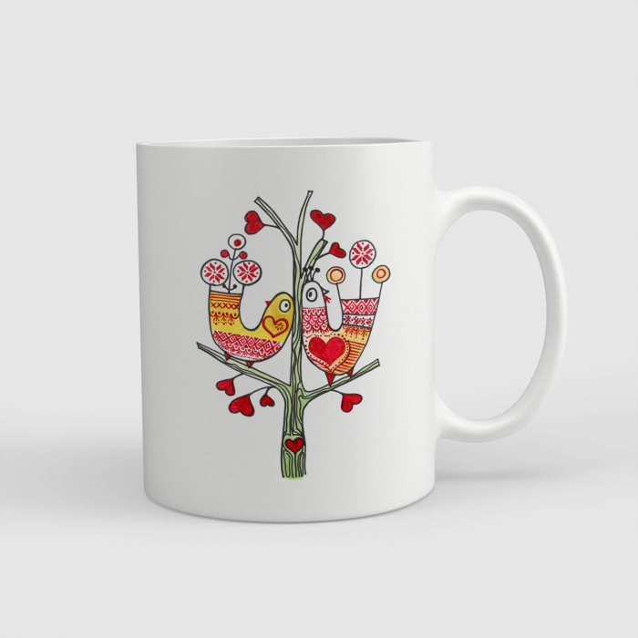 Cană ceramică - Dragostea din tei [0]