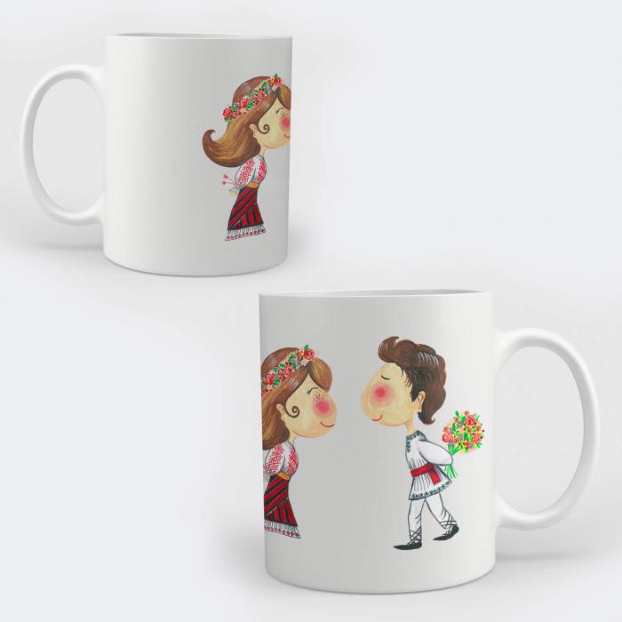 Cană ceramică - Flori în dar [0]