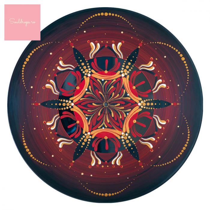 """Cană ceramică - Mandala """"Muladhara"""" [1]"""