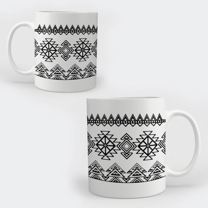 Cană ceramică - Motive etno 05 [0]