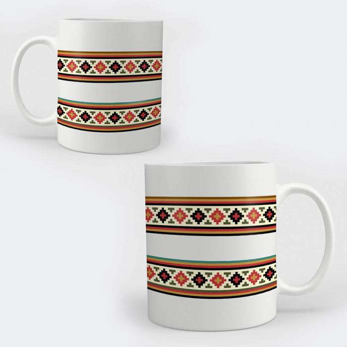 Cană ceramică - Motive tradiționale 01 [0]