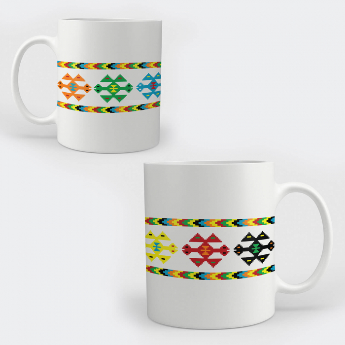 Cană ceramică - Motive tradiționale #020b [0]