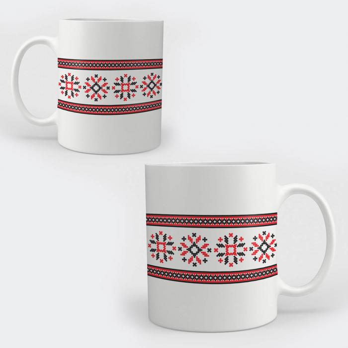 Cană ceramică - Motive tradiționale 04 [0]