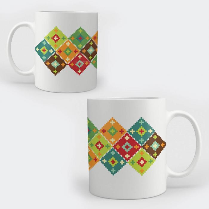 Cană ceramică - Motive tradiționale 05 [0]