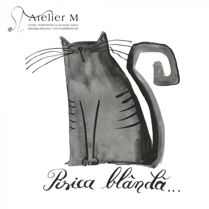 Cană ceramică - Pisica blândă [1]