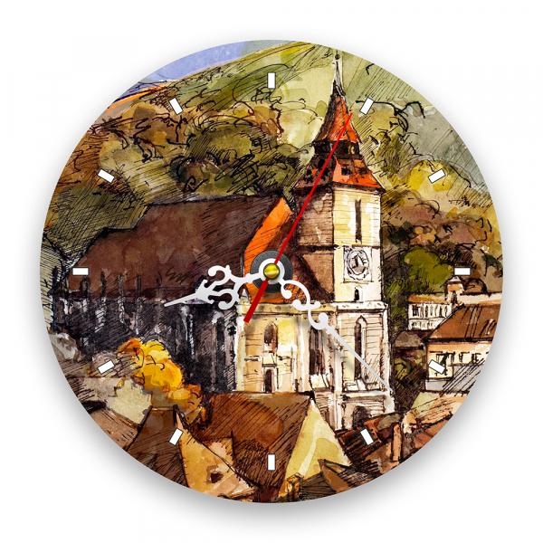 Ceas de perete - Biserica Neagră, Brașov 0