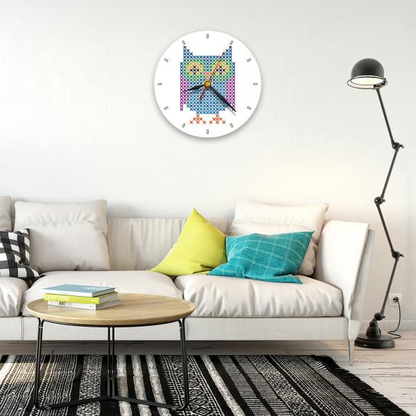 Ceas de perete - Bufnița 1