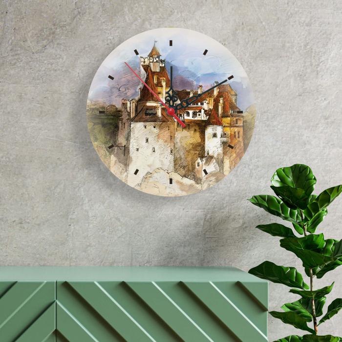 Ceas de perete - Casa lui Dracula [1]