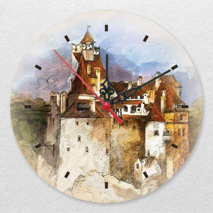 Ceas de perete - Casa lui Dracula [0]