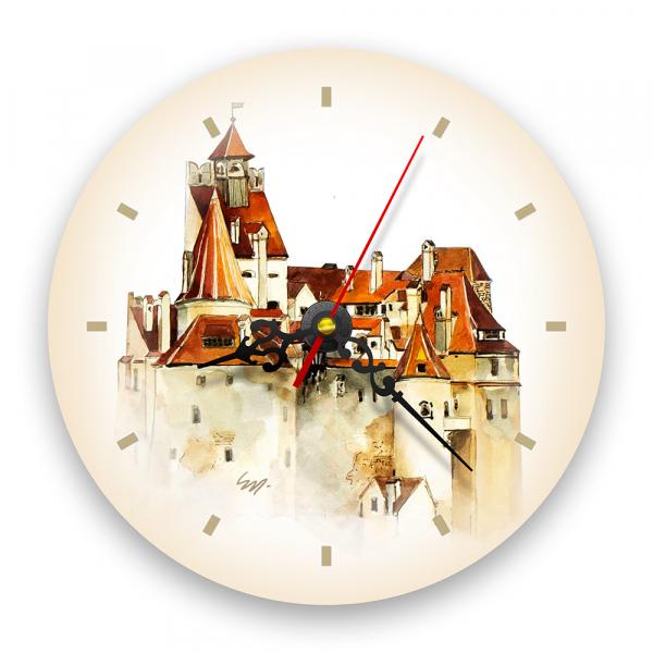 Ceas de perete - Castelul Bran 0