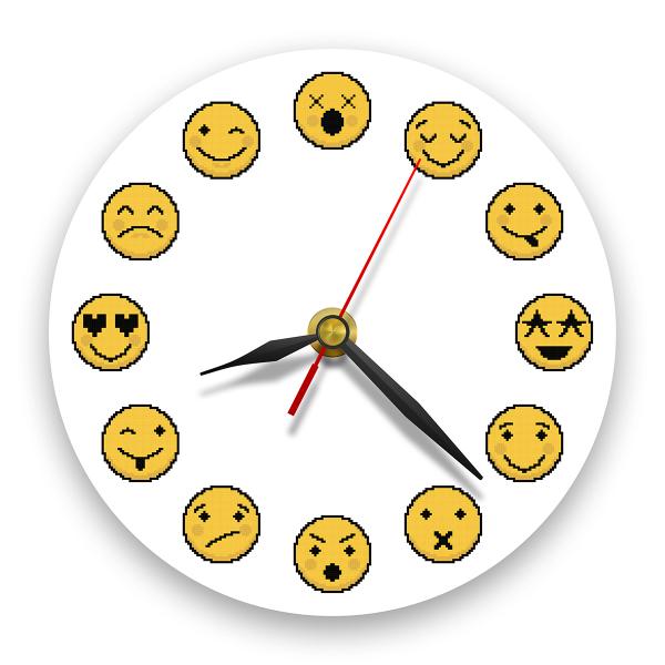 Ceas de perete - Emoji 0