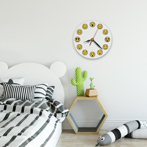 Ceas de perete - Emoji 1