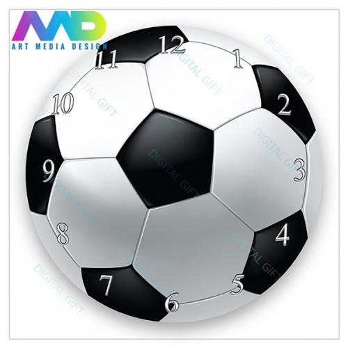Ceas de perete - Fotbal 1