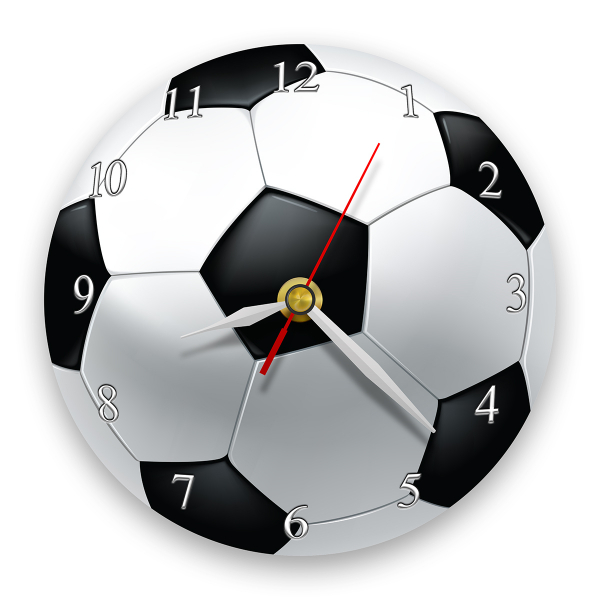 Ceas de perete - Fotbal 0