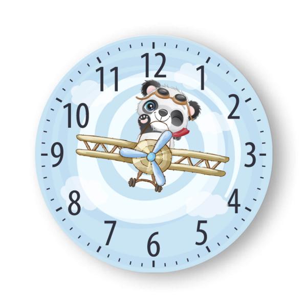 Ceas de perete - Panda aviator 2