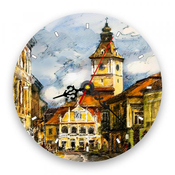 Ceas de perete - Piața Sfatului, Brașov 0