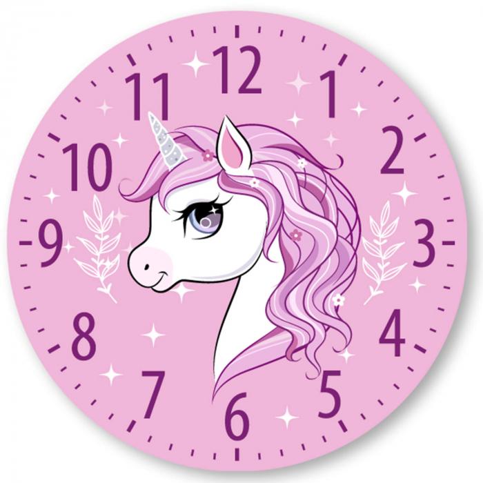 Ceas decorativ de perete - Sunt un unicorn 2