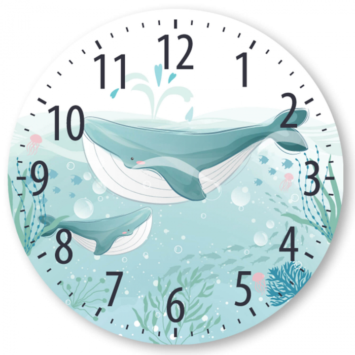Ceas de perete - Viața de sub mări 2