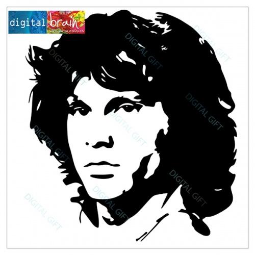 Hanorac unisex - Jim Morrison 1