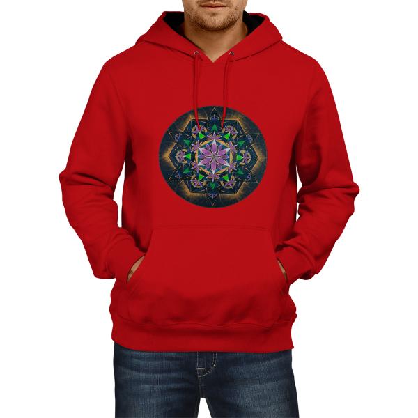 "Hanorac unisex - Mandala ""Conștiința extinsă"" 0"