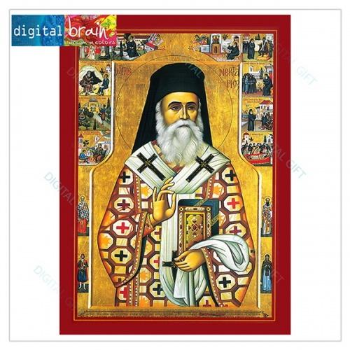 Icoană - Sf. Nectarie 1