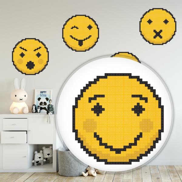 Sticker decorativ perete - Emoji 02 1