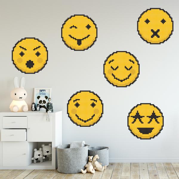 Sticker decorativ perete - Emoji 02 0