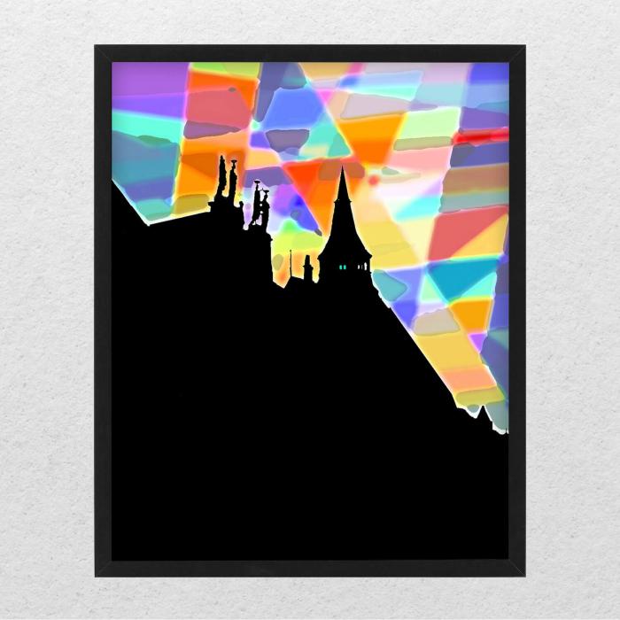 Poster abstract - Lumini și umbre #070 [0]