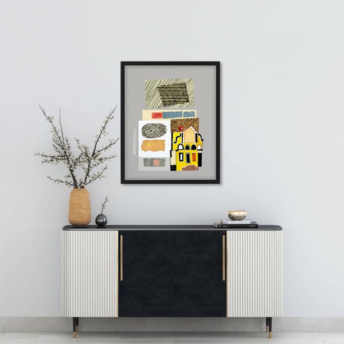Poster - Brașov, compoziție abstractă 02 1