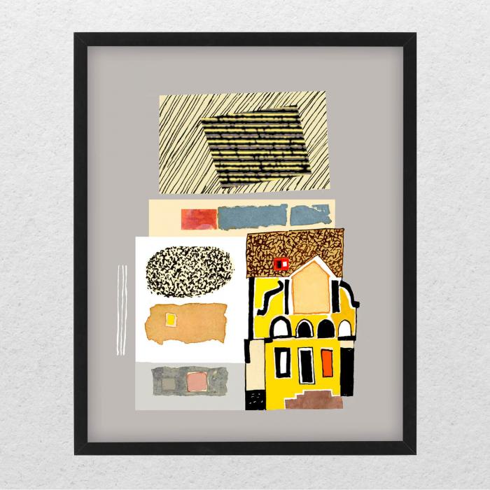 Poster - Brașov, compoziție abstractă 02 0