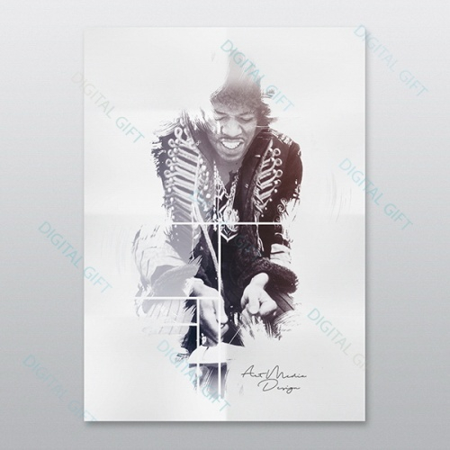 Poster - Jimi Hendrix 0
