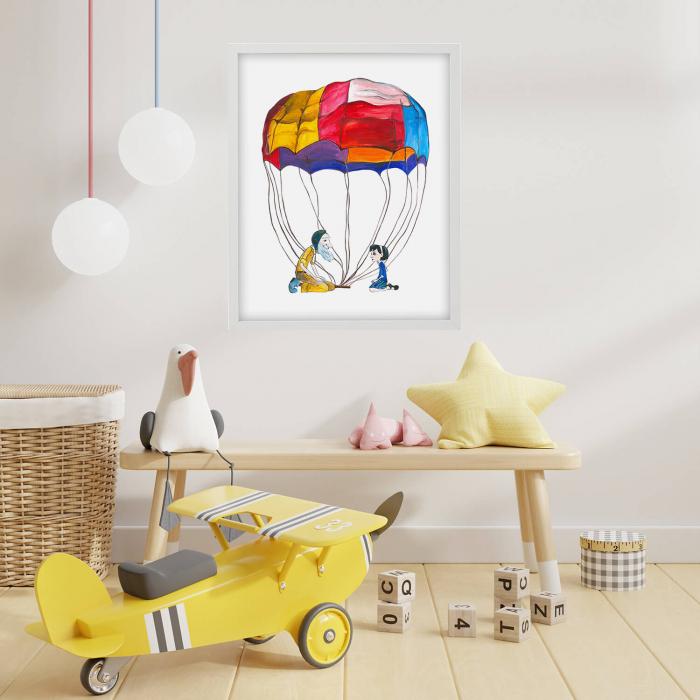 Poster decorativ pentru copii - Micul Print 01 [1]